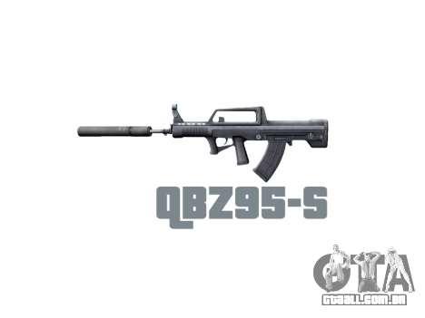 Máquina QBZ-95-S icon3 para GTA 4 terceira tela