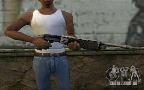 SPAS-12 from Battlefield 3 para GTA San Andreas terceira tela