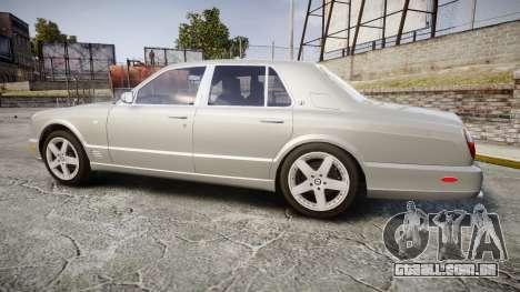 Bentley Arnage T 2005 Rims3 para GTA 4 esquerda vista