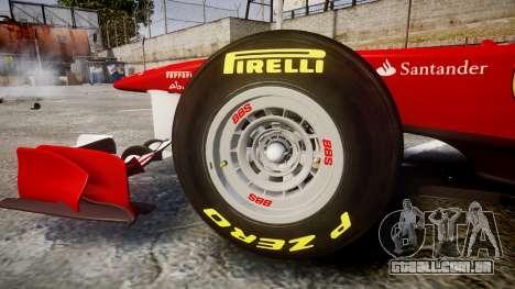Ferrari 150 Italia Track Testing para GTA 4 vista interior