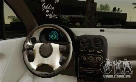 Daewoo Matiz Tuned para GTA San Andreas traseira esquerda vista
