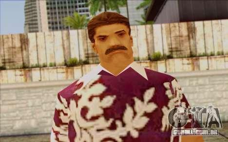 Diaz Gang from GTA Vice City Skin 1 para GTA San Andreas terceira tela