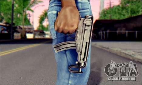 Escorpião vz. 61 para GTA San Andreas terceira tela