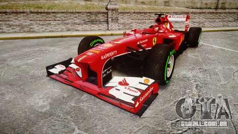 Ferrari F138 v2.0 [RIV] Massa TIW para GTA 4