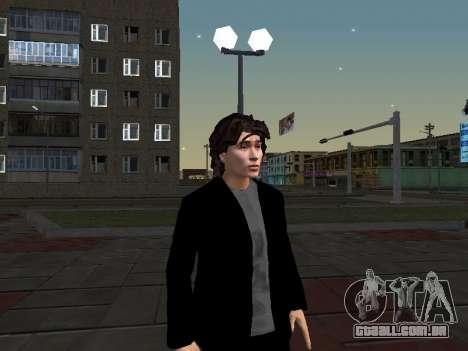Viktor Tsoi para GTA San Andreas por diante tela
