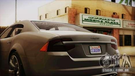 Lampadati Felon (IVF) para GTA San Andreas vista direita