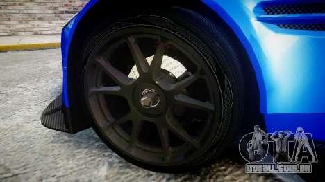 Aston Martin Vantage GTE Nico Yazawa para GTA 4 vista de volta