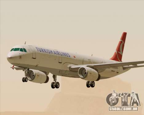 Airbus A321-200 Turkish Airlines para GTA San Andreas