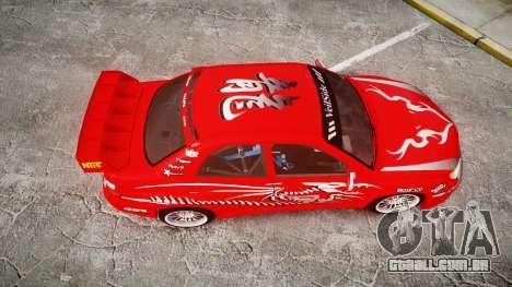 Subaru Impreza WRX STI Street Racer para GTA 4 vista direita
