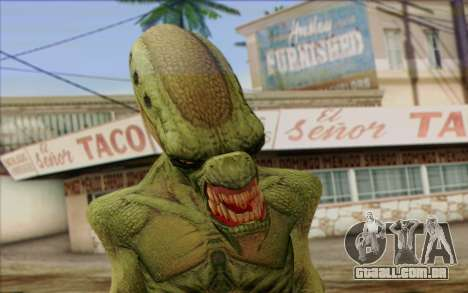 Alien from GTA 5 para GTA San Andreas terceira tela