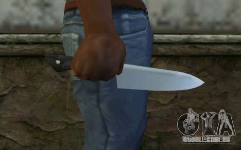 Kitchen Knife from Hitman 2 para GTA San Andreas terceira tela