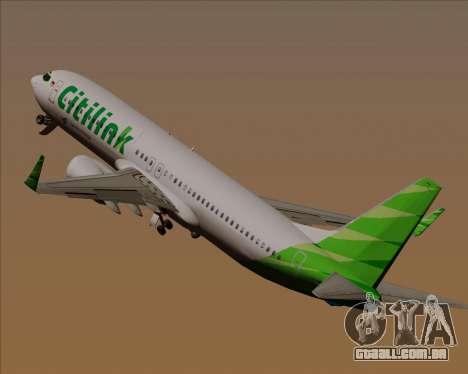 Boeing 737-800 Citilink para as rodas de GTA San Andreas