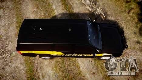 Chevrolet Suburban [ELS] Rims1 para GTA 4 vista direita