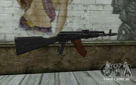 A AK-103 para GTA San Andreas segunda tela