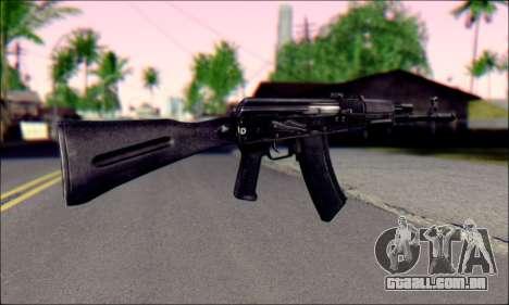 AK-74 m para GTA San Andreas segunda tela