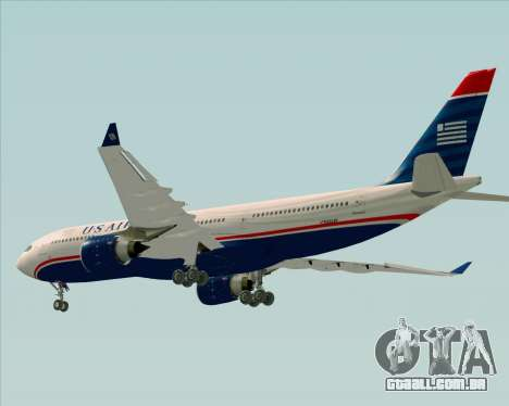 Airbus A330-200 US Airways para o motor de GTA San Andreas