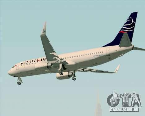 Boeing 737-800 Batavia Air para o motor de GTA San Andreas