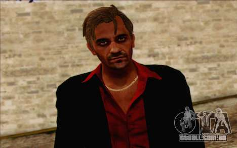 Hoyt Volker (Far Cry 3) para GTA San Andreas terceira tela
