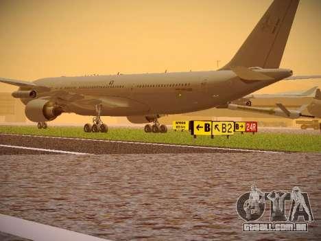Airbus KC-45A (A330-203) Australian Air Force para GTA San Andreas vista direita