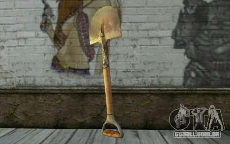 Pá (DayZ Standalone) para GTA San Andreas segunda tela