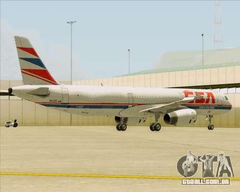 Airbus A321-200 CSA Czech Airlines para o motor de GTA San Andreas