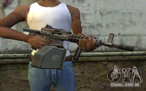 Arma De Ares Shrike para GTA San Andreas terceira tela