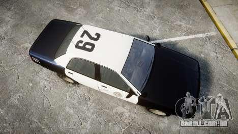 GTA V Vapid Cruiser LSP [ELS] Slicktop para GTA 4 vista direita