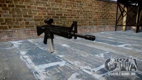 Rifle M16A4 ACOG para GTA 4