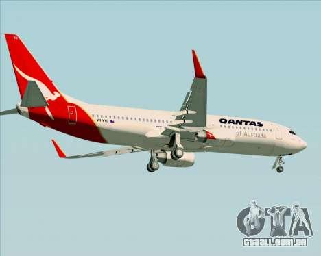 Boeing 737-838 Qantas (Old Colors) para as rodas de GTA San Andreas