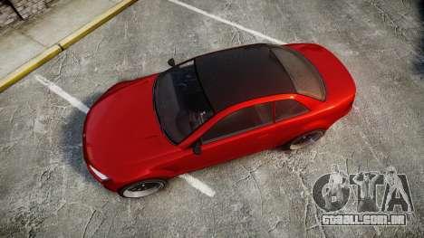 GTA V Ubermacht Sentinel XS para GTA 4 vista direita