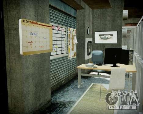 Garagem com novo interior Alcalinas para GTA 4 décima primeira imagem de tela