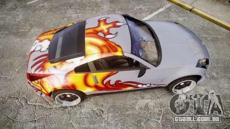 Nissan 350Z EmreAKIN Edition para GTA 4 vista direita