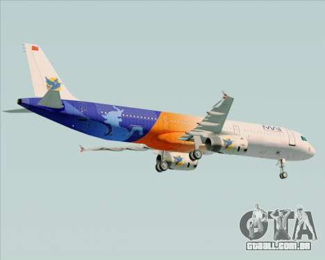 Airbus A321-200 Myanmar Airways International para GTA San Andreas vista direita