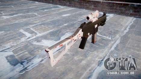 Arma UMP45 flor de Cerejeira para GTA 4 segundo screenshot