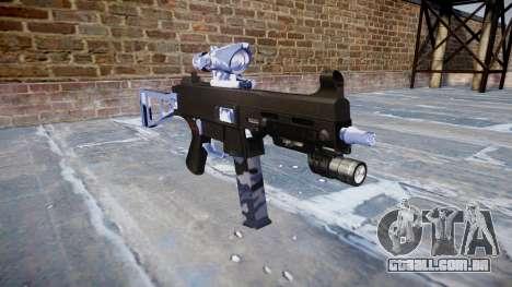Arma UMP45 Blue Tiger para GTA 4