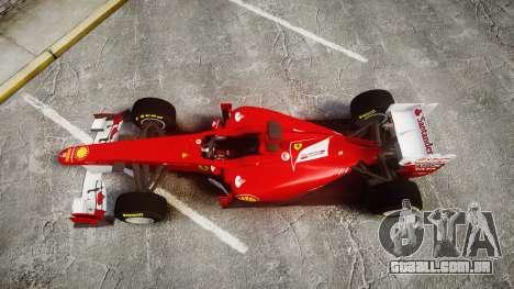 Ferrari 150 Italia Track Testing para GTA 4 vista direita