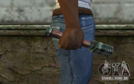 M24 Chocalho do Dia da Derrota para GTA San Andreas terceira tela