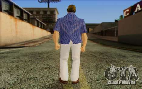 Vercetti Gang from GTA Vice City Skin 1 para GTA San Andreas segunda tela