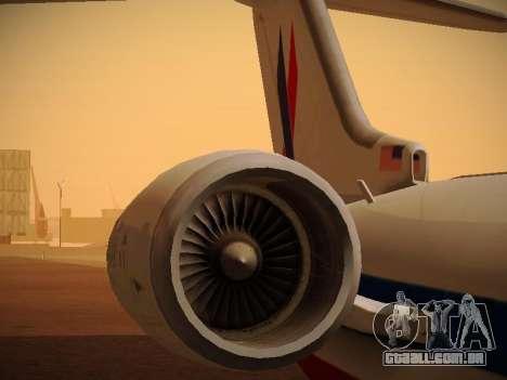 Bombardier CRJ-700 American Eagle para o motor de GTA San Andreas