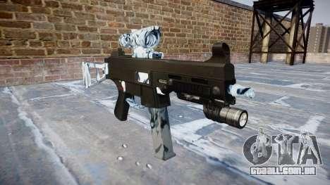 Arma UMP45 Crânios para GTA 4