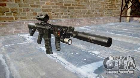 Máquina Tático M4A1 CQB para GTA 4