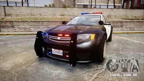 GTA V Cheval Fugitive LS Police [ELS] para GTA 4