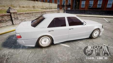 Mercedes-Benz E500 1998 Tuned Wheel White para GTA 4 esquerda vista