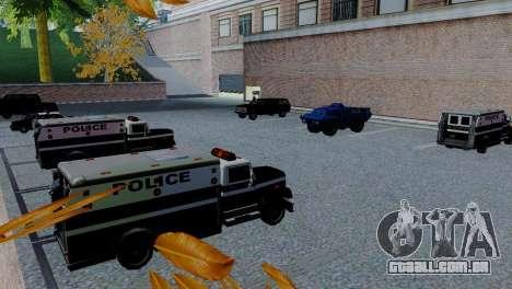 Veículos novos em SFPD para GTA San Andreas