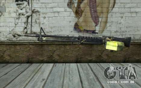 M60 from Battlefield: Vietnam para GTA San Andreas