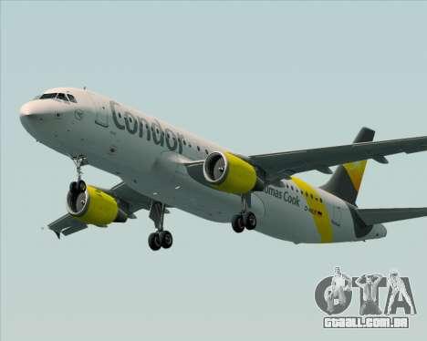 Airbus A320-212 Condor para as rodas de GTA San Andreas
