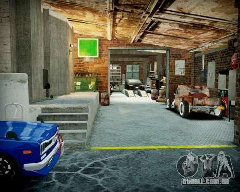 Garagem com novo interior Alcalinas para GTA 4 nono tela
