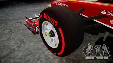 Ferrari F138 v2.0 [RIV] Alonso TSSD para GTA 4 vista de volta
