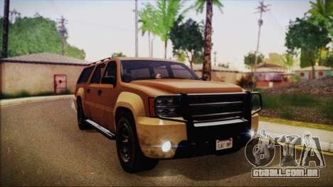 GTA 5 Granger para GTA San Andreas