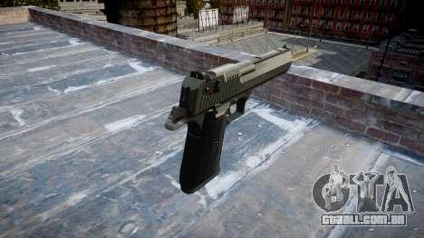 Arma de IMI Desert Eagle Mk XIX Preto para GTA 4 segundo screenshot